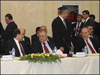 इराक़ी नेताओं की बैठक