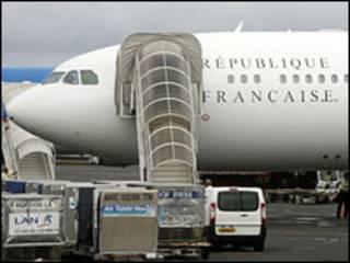 طائرة الرئاسة الفرنسية القديمة