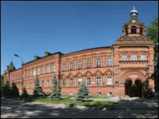 Корпус ИМЭФК Ульяновского госуниверситета