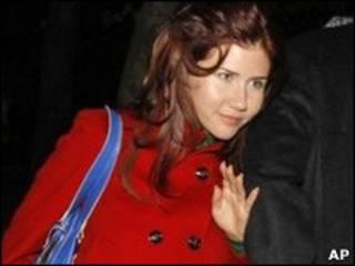 Anna Chapman, một trong 10 điệp viên Nga bị trục xuấ