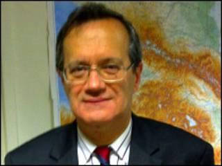 Генеральный секретарь ОБСЕ Марк Перрен де Бришамбо в редакции Всемирной службы Би-би-си