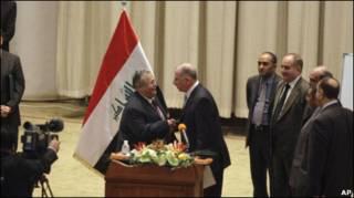 Джалал Талабани принимает присягу президента