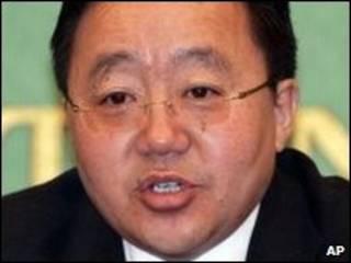 Tổng thống Mông Cổ, ông Tsakhia Elbegdorj