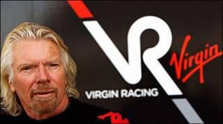 Richard Branson tài trợ cho Virgin Racing