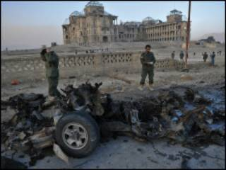 Bam din da ya tashi a mota a Afghanistan