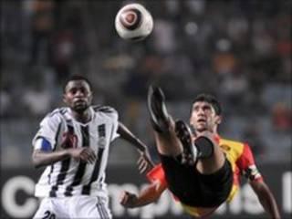 مباراة سابقة للترجي ومازيمبي