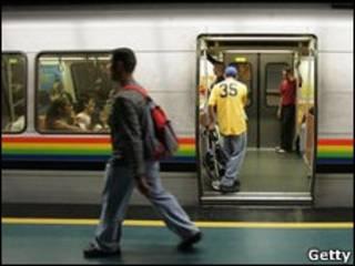 مترو الأنفاق في العاصمة الفنزويلية، كاراكاس