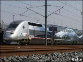 Trens da SNCF/Getty