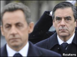 Саркози и Фийон
