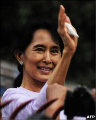 آنگ سن سو چی، رهبر طرفدار دموکراسی برمه