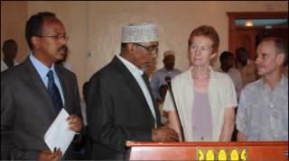 Paul and Rachel oo lagu soo dhoweynayo Villa Somalia