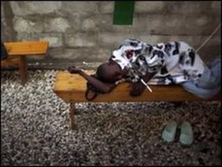 ضحايا الكوليرا في هايتي