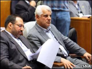 محمود بهمنی و شمس الدین حسینی