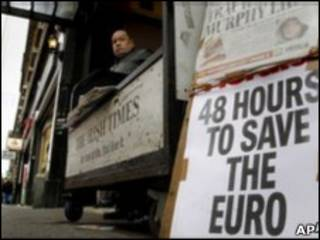 Gần đây hệ thống ngân hàng của Ai Len bắt đầu sống bằng tiền trợ giúp của ECB