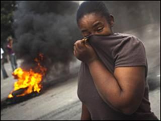 أحداث عنف بعد انتشار الكوليرا في هايتي