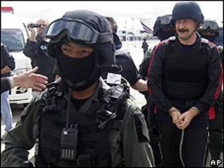 Viktor Bout, supuesto traficante de armas ruso
