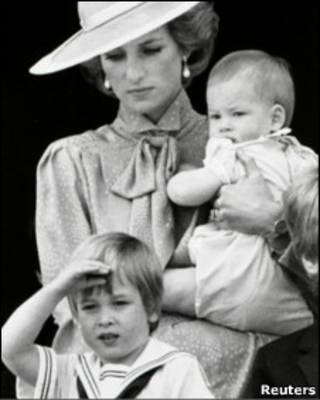 威廉王子小时候