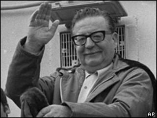 Salavador Allende, ex presidente de Chile