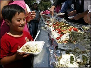 Comida mexicana tradicional