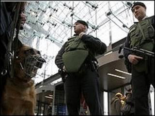 إجراءات أمنية في ألمانيا