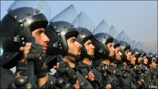 مانورامنیت و آرامش در تهران