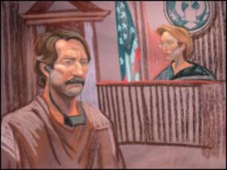 رسم لجلسة محاكمة فكتور بوت
