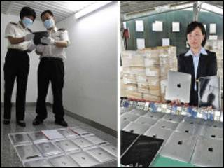 中国海关工作人员