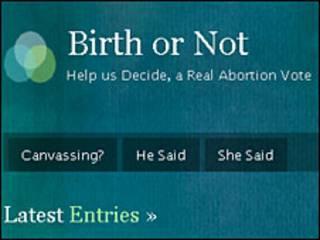 Blog del aborto