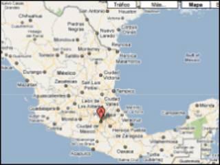 Mapa de México en Google