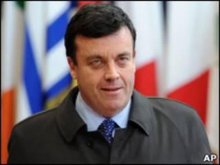 Bộ trưởng Tài chính Ireland Brian Lenihan
