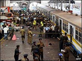 Ataque suicida ocurrido en Colombo, Sri Lanka, en 2008.