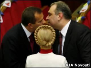 Депутаты украинского парламента