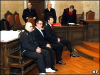 Подсудимые в австрийском суде