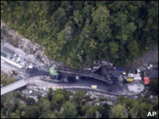 موقع منجم الفحم في نيوزيلندا