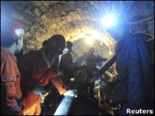 Спасатели за работой