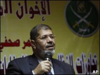 محمد مرسي عضو مكتب إرشاد الإخوان