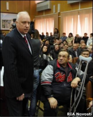 Александр Бастрыкин на встрече с жителями Кущевской