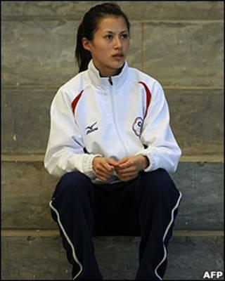 廣州亞運中華台北跆拳道選手楊淑君(19/11/2010)