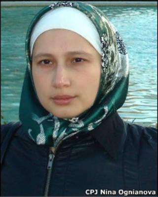 Дагестанская журналистка Надира Исаева