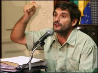 Ignacio Cano na Assembleia Legislativa do Rio (Foto: Rafael Wallace/Divulgação da Alerj)