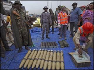 أسلحة في نيجيريا