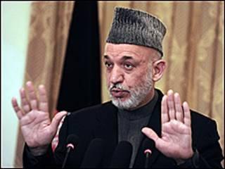 Tổng thống Harmid Karzai