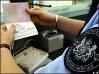 کنترل گذرنامه در بریتانیا