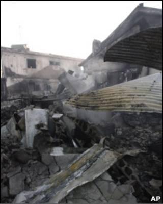 Разрушения на острове Йонпхендо