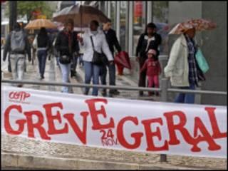 إضراب في البرتغال