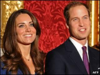 凯特•米德尔顿和威廉王子明年四月结婚