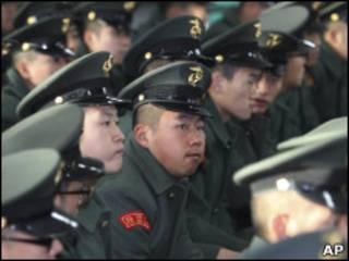 Южнокорейские военнослужащие