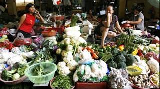 Chợ ở Hà Nội