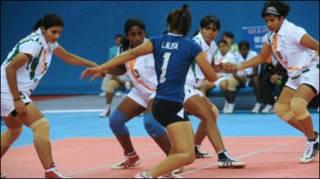 भारतीय महिला कबड्डी टीम