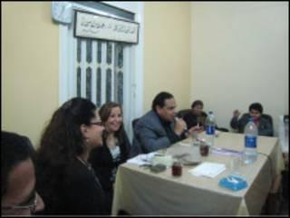 علاء الأسواني ونوال مصطفى
